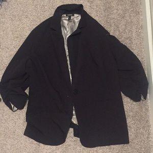 Torrid black blazer jacket 3x